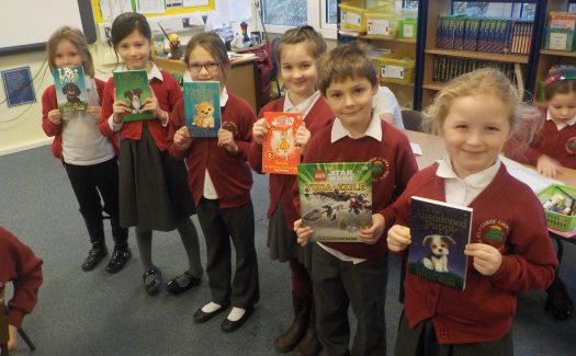 The PTA fund our Reading Rewards Scheme which enables children to earn a book for every 30 reads they do at home.